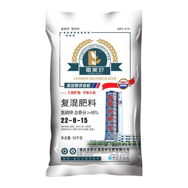 嘉美好高塔 22-8-15cl 复混肥料